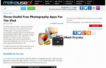 http://www.makeuseof.com/tag/free-photography-apps-ipad-mac/