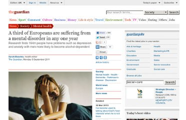 http://www.guardian.co.uk/society/2011/sep/05/third-europeans-mental-disorder