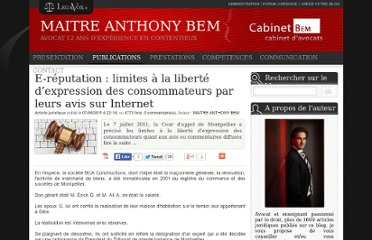 http://www.legavox.fr/blog/maitre-anthony-bem/reputation-limites-liberte-expression-consommateurs-6412.htm