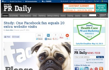 http://prdaily.com/Main/Articles/Study_One_Facebook_fan_equals_20_extra_website_vis_8716.aspx