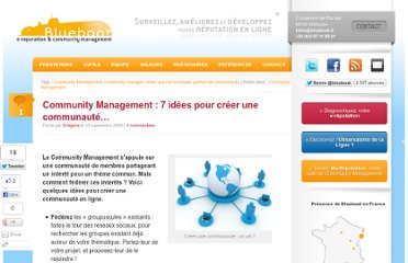 http://www.blueboat.fr/communitymanagement-creer-une-communaute-quelques-idees