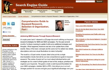http://www.searchengineguide.com/stoney-degeyter/comprehensive-guide-to-keyword-research.php