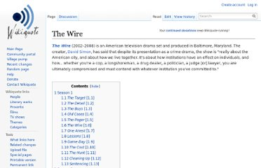http://en.wikiquote.org/wiki/The_Wire