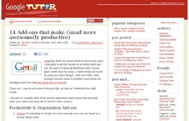 http://www.googletutor.com/14-add-ons-that-make-gmail-more-awesomely-productive/