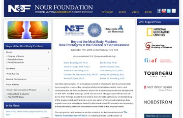 http://www.nourfoundation.com/events/Beyond-the-Mind-Body-Problem-New-Paradigms-in-the-Science-of-Consciousness.html