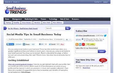 http://smallbiztrends.com/2011/09/social-media-tips-in-small-business-today.html