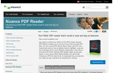 http://www.nuance.com/products/pdf-reader/index.htm
