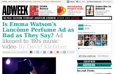 http://www.adweek.com/adfreak/emma-watsons-lanc-me-perfume-ad-bad-they-say-134684
