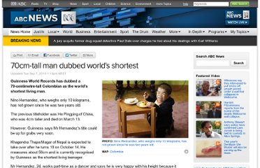 http://www.abc.net.au/news/2010-09-07/70cm-tall-man-dubbed-worlds-shortest/2251044