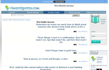 http://www.finestquotes.com/author_quotes-author-Wiz%20Khalifa-page-0.htm