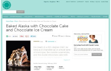 http://www.marthastewart.com/356447/baked-alaska-chocolate-cake-and-chocolate-ice-cream