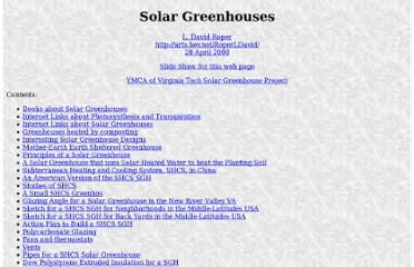 http://www.roperld.com/science/solargreenhouses.htm