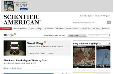 http://blogs.scientificamerican.com/guest-blog/2011/09/08/the-social-psychology-of-burning-man/