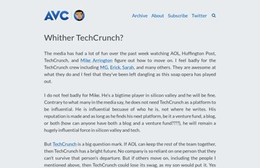 http://www.avc.com/a_vc/2011/09/whither-techcrunch.html