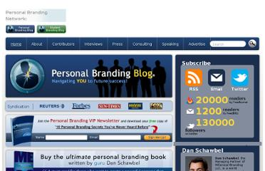 http://www.personalbrandingblog.com/25-ways-to-prospect-and-build-your-brand/