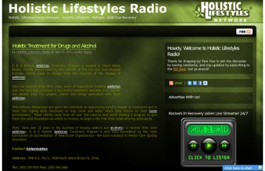 http://www.holisticlifestylesradio.com/2011/04/13/drugs-and-alcohol/