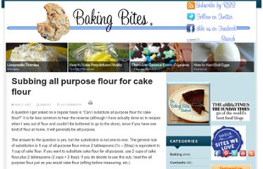 http://bakingbites.com/2007/05/subbing-all-purpose-flour-for-cake-flour/
