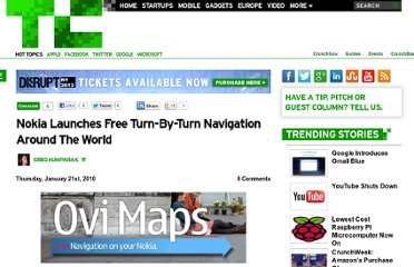 http://techcrunch.com/2010/01/21/nokia-announces-free-turn-by-turn-navigation-around-the-world/