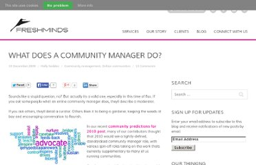 http://www.freshnetworks.com/blog/2009/12/what-does-a-community-manager-do/