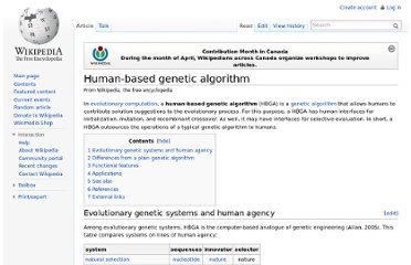 http://en.wikipedia.org/wiki/Human-based_genetic_algorithm