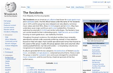 http://en.wikipedia.org/wiki/The_Residents