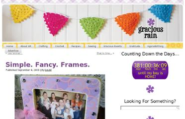 http://www.graciousrain.com/2009/09/04/simple-fancy-frames/