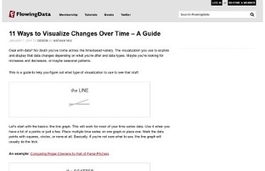 http://flowingdata.com/2010/01/07/11-ways-to-visualize-changes-over-time-a-guide/