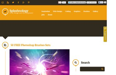 http://www.splashnology.com/article/50-free-photoshop-brushes-sets/369/