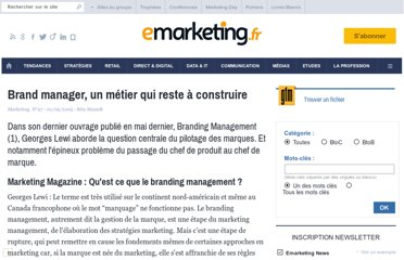 http://www.e-marketing.fr/Marketing-Magazine/Article/Brand-manager-un-metier-qui-reste-a-construire-15235-1.htm