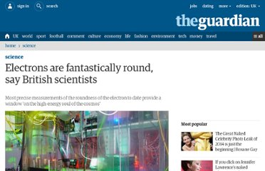 http://www.guardian.co.uk/science/2011/may/25/electrons-round-cosmos