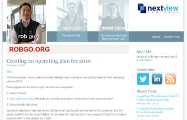 http://robgo.org/2009/12/09/creating-an-operating-plan-for-2010/