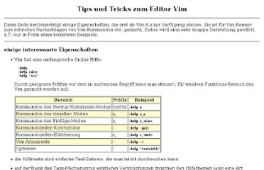 http://www-user.tu-chemnitz.de/~hot/VIM/Tips_und_Tricks.html