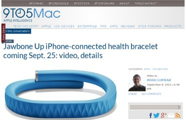http://9to5mac.com/2011/09/08/jawbone-up-iphone-connected-health-bracelet-coming-sept-25-video-details/