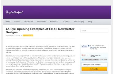 http://inspirationfeed.com/inspiration/45-eye-opening-examples-of-email-newsletter-designs/