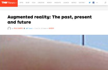 http://thenextweb.com/insider/2011/07/03/augmented-reality-the-past-present-and-future/