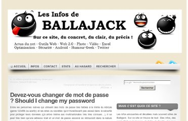 http://www.ballajack.com/changer-mot-passe-should-i-change-my-pasword