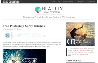 http://www.beatfly.net/free-photoshop-spray-brushes.php