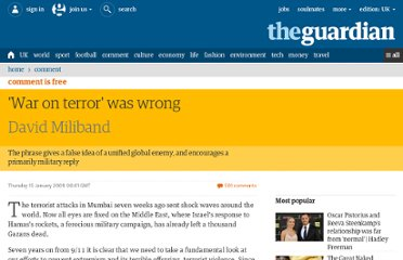 http://www.guardian.co.uk/commentisfree/2009/jan/15/david-miliband-war-terror