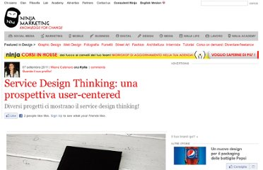 http://www.ninjamarketing.it/2011/09/07/service-design-thinking-una-prospettiva-user-centered/