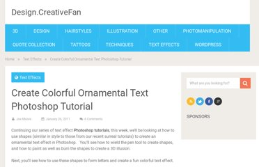 http://design.creativefan.com/create-colorful-ornamental-text-photoshop-tutorial/