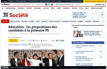 http://www.lemonde.fr/societe/article/2011/09/05/education-les-propositions-des-candidats-socialistes_1567712_3224.html