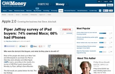 http://tech.fortune.cnn.com/2010/04/05/piper-jaffray-survey-of-ipad-buyers-74-owned-macs-66-had-iphones/