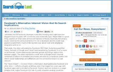 http://searchengineland.com/facebooks-alternative-internet-vision-and-its-search-implications-40420