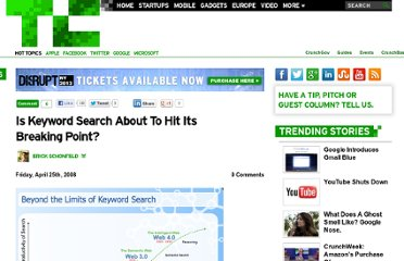 http://techcrunch.com/2008/04/25/is-keyword-search-about-to-hit-its-breaking-point/
