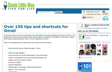 http://www.dumblittleman.com/2006/09/5-resources-and-over-100-tips-and.html