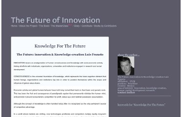 http://thefutureofinnovation.org/contributions/view/916/knowledge_for_the_future