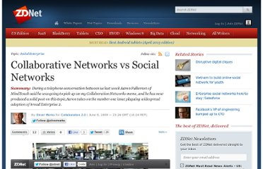 http://www.zdnet.com/blog/collaboration/collaborative-networks-vs-social-networks/621