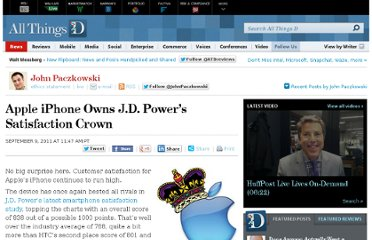http://allthingsd.com/20110909/apple-iphone-owns-j-d-powers-satisfaction-crown/