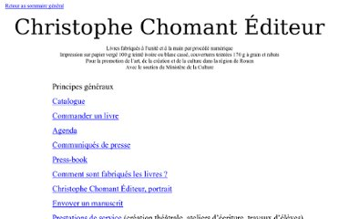 http://christophe.chomant.pagesperso-orange.fr/Edition/Edition.htm