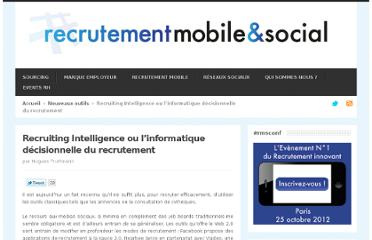 http://recrutementmediassociaux.com/recruiting-intelligence-ou-linformatique-decisionnelle-du-recrutement/